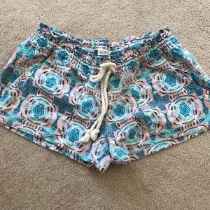 Shorty shorts. Surf wear.